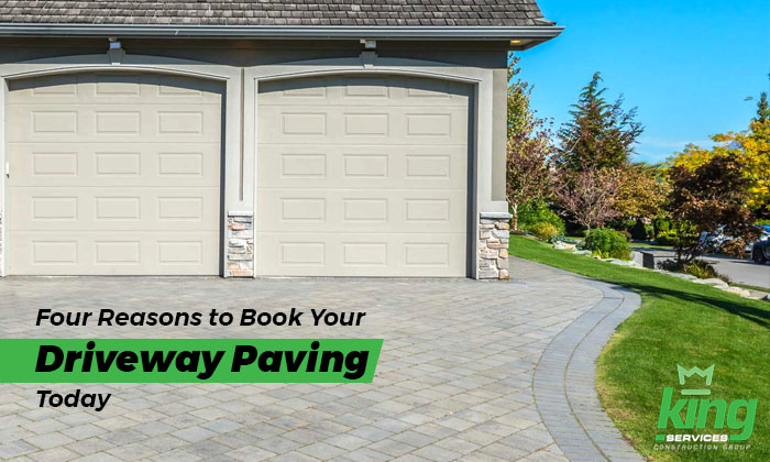 booking your driveway paving