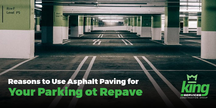 Asphalt Paving for Your Parking Lot Repave